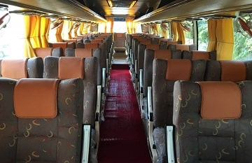 45 Seater Volvo Coach