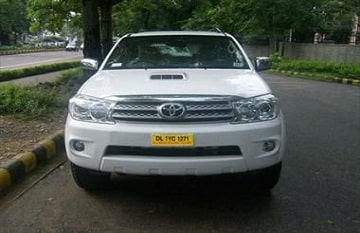 Toyota fortuner Car